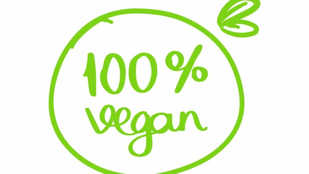 logo 100% vegan