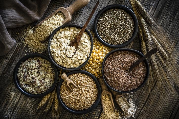 céréales mets pour recettes vegan